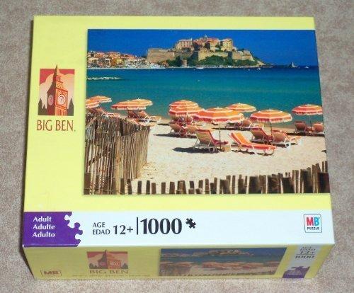Calvi Beach Corsica France ~ 1000 Piece Jigsaw Puzzle