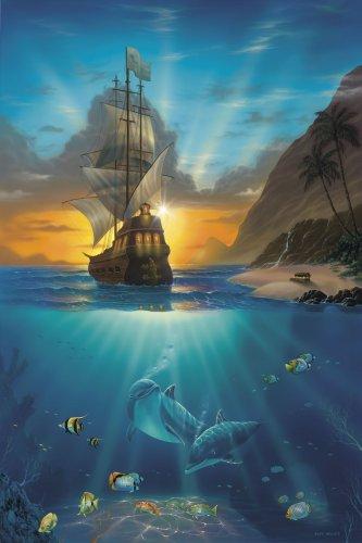 Jeff Wilke 1000-Piece Puzzle - Pirates Paradise