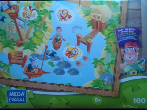 MEGA Puzzle Pirate Lens Reveals Treasure Clues 100 Pieces