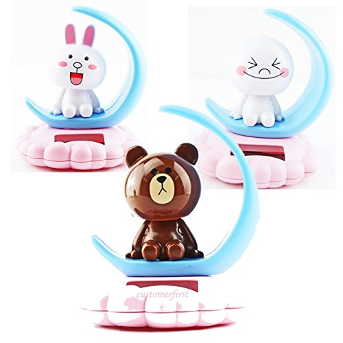 3X Solar Power TOY Customerfirst LINE character series for Christmas gift Birthday