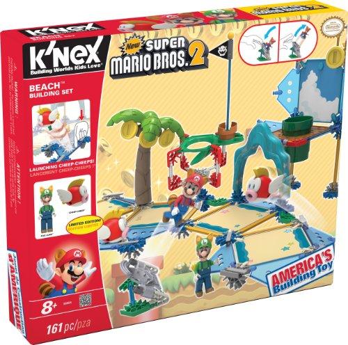 KNEX New Super Mario Bros 2 Beach Building Set 38624
