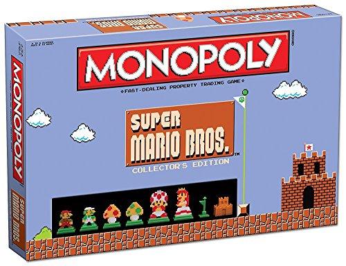 Monopoly Super Mario Bros Collectors Edition Board Game