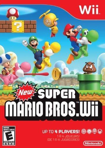 New Super Mario Bros Wii by Nintendo Certified Refurbished