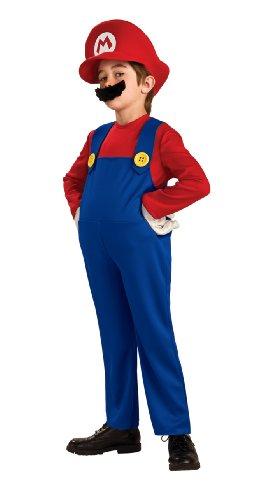 Super Mario Brothers Deluxe Mario Costume Medium