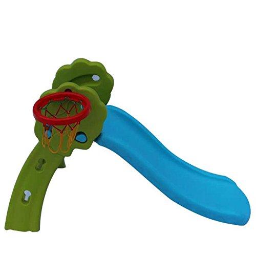 Ankola Little Tikes Easy Store Large Slide Little Tikes First Slide Plastic Toy Folding Slide Childrens Basketball Hoop Indoor Slide Children Slide Toy Folding Play Slide Chute 5131528