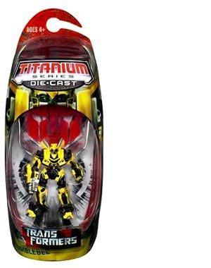 Transformers The Movie Titanium Series  Bumblebee Action Figure