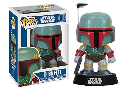 Star Wars - Boba Fett POP Figure Toy 3 x 4in