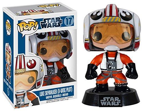 Star Wars - Luke Pilot POP Figure Toy 3 x 4in