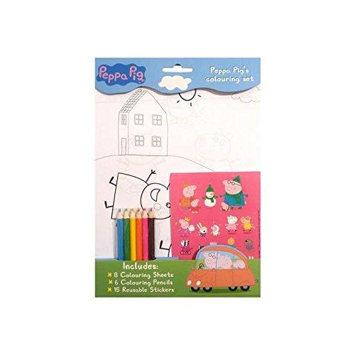 Peppa Pig - Colouring Set