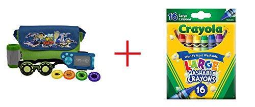 Wild Kratts Adventure Set and Crayola 16-Count Large Washable Crayons - Bundle