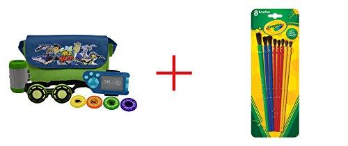 Wild Kratts Adventure Set and Crayola 8 pack Brushes - Bundle
