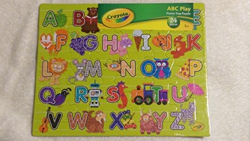 Crayola ABC Frame Tray Puzzle 24 Pieces