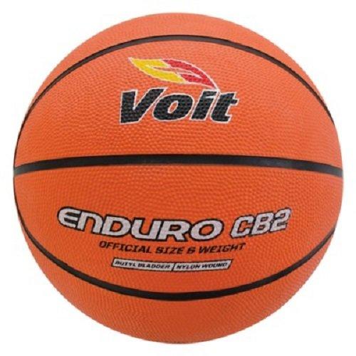 Kids IndoorOutdoor Rubber Basketball - Ages 6-9