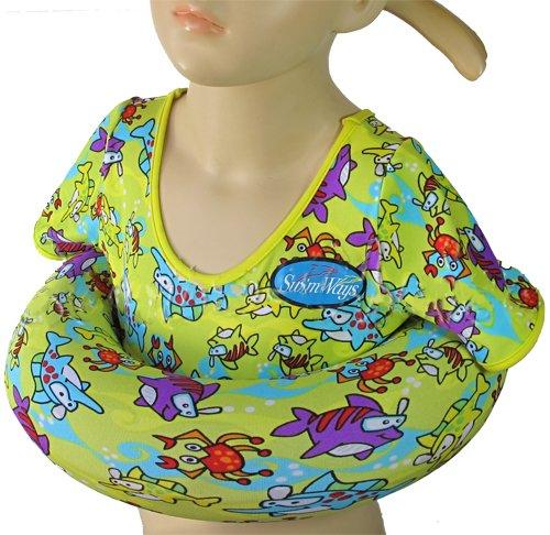 Scuba Choice SwimWays Yellow Cartoon Shark Unisex Kids Rubber Tube Swim Trainer