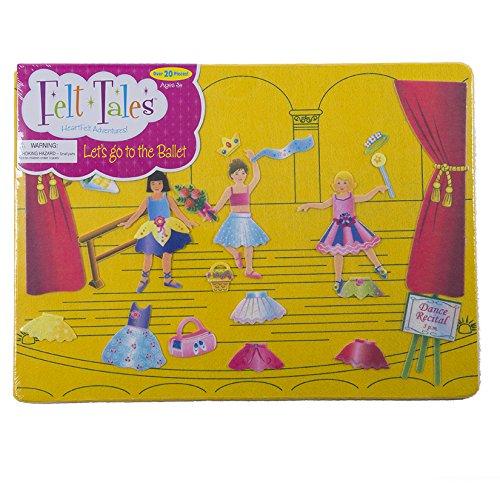 FeltTales Lets Go to The Ballet Felt Storyboard