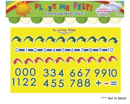 Number Line Numbers 1-10 Felt Board Activity Set