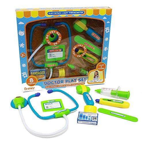 Boleys Doctor Kit - Pretend play doctor set with flashing lights