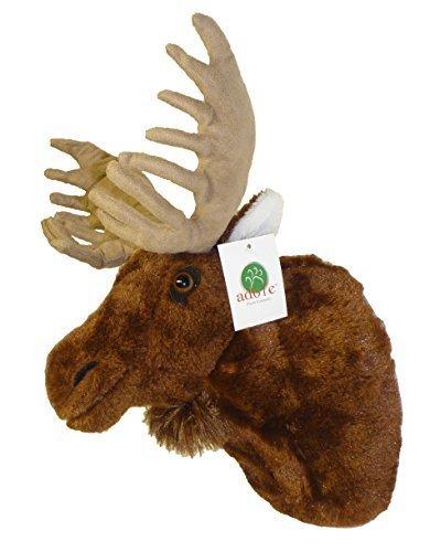 ADORE 13 Yukon the Moose Plush Stuffed Animal Walltoy Wall Mount