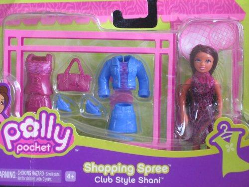 Polly Pocket Shopping Spree Club Style SHANI DOLL Set 2006