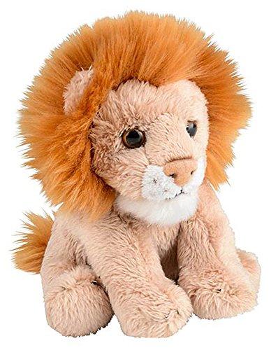 Wildlife Tree 5 Inch Stuffed Lion Zoo Animal Plush Floppy Animal Kingdom Babies Collection