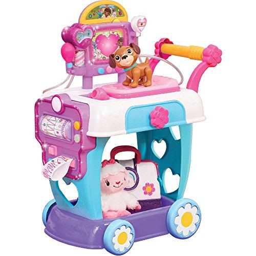 Disney Doc McStuffins Girls Pretend Play Hospital Care Cart