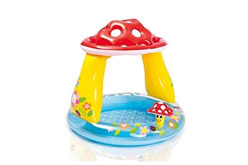 Intex Inflatable Mushroom Water Play Center Kids Pool