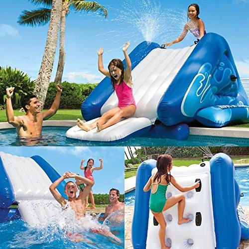 Intex Water Slide Inflatable Kids Backyard Fun Play Center Summer Outdoor Fun Swimming