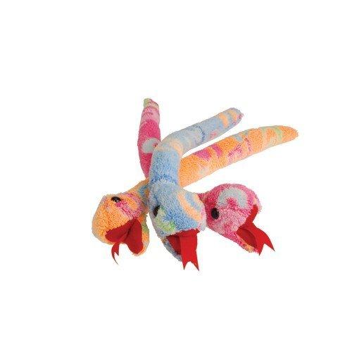 Dozen 12 Adorable 11 Pastel Swirl PLUSH SNAKES - Toy Stuffed Animal - Assortment Party Favors