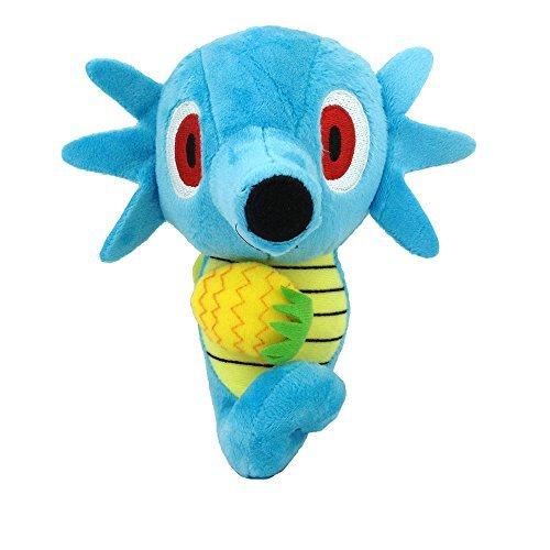 Generic Horsea Dragon Pokemon Character Water Type Plush Toy Stuffed Animal Seahorse Soft Figure Doll 65
