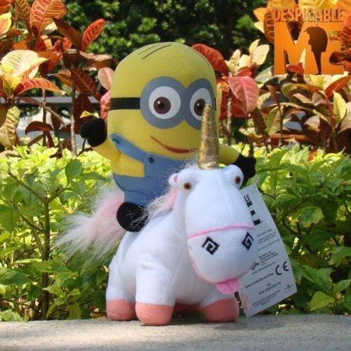 Despicable Me Minion 6Dave Unicorn Plush Toy Cool Stuffed Animal -2pcs