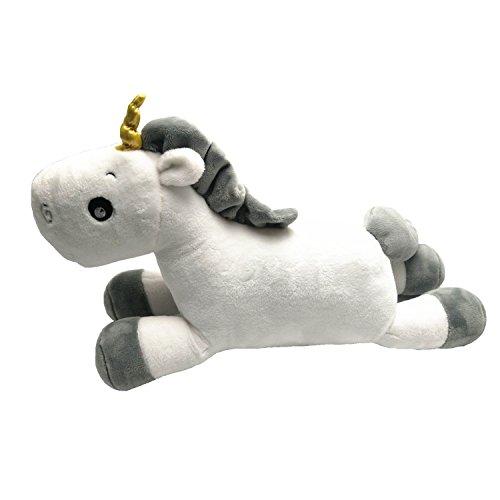 Lovely Unicorn Plush Toy White Soft Stuffed Toy for Kids Girlfriend BirthdayChristmas gifts size 50cm