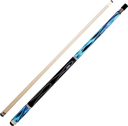 Cuetec Gen-Tek Series 58 2-Piece Canadian Maple BilliardPool Cue Blue Wave