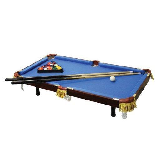 Executive Tabletop Billiard Pool Table - Blue