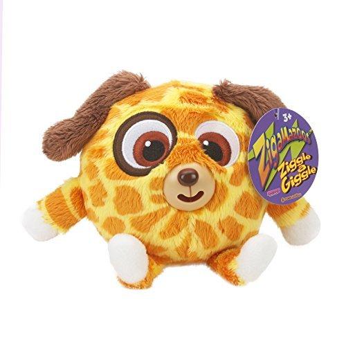 Zigamazoo New Snuggables Ziggle and Giggle Soft Teddy Toy 3 Orange and Yellow by Zigamazoo
