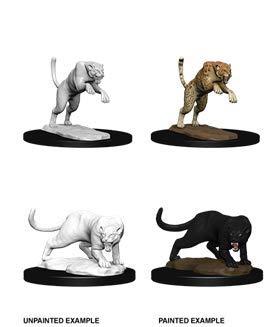 Dungeons Dragons Nolzur`s Marvelous Unpainted Miniatures Panther Leopard