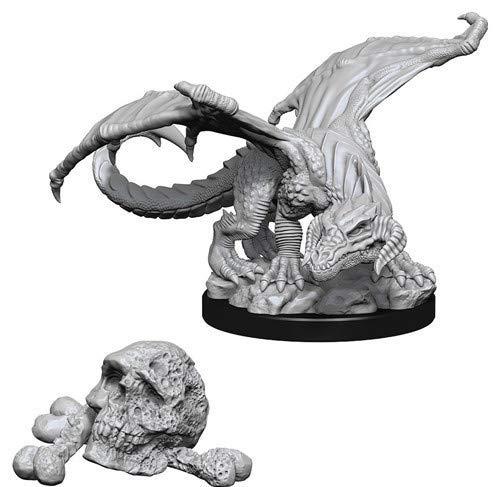 Nolzurs Marvelous Miniatures Wizkids - D&D Black Dragon Wyrmling WZK73850