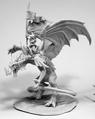 Reaper Miniatures 77557 Kyra and Lavarath Dragon and Rider Bones Miniature