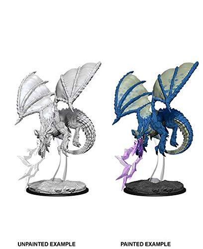 WizKids D&D Nolzurs Marvelous Miniatures Young Blue Dragon