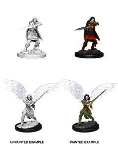 WizKids Dungeons Dragons Nolzurs Marvelous Miniatures Female Aasimar Fighte