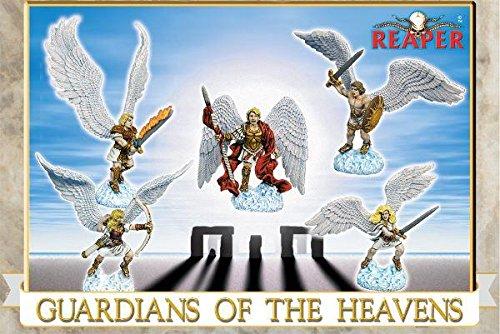 Reaper Miniatures GuardiansHeavens 10007 Boxed Sets Unpainted Metal RPG Figure