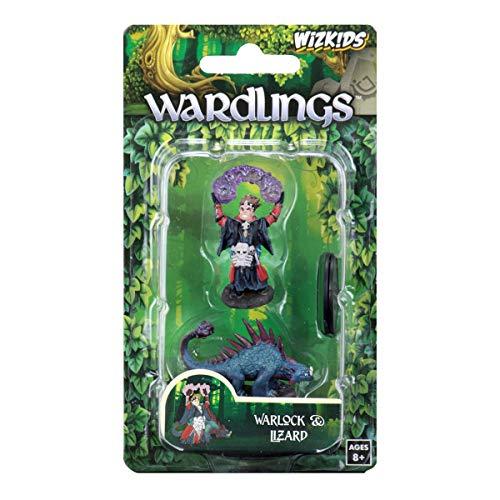 WizKids Wardlings Painted RPG Figures Boy Warlock Lizard