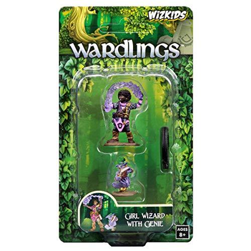 WizKids Wardlings RPG Figures Girl Wizard Genie