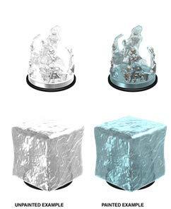 Dungeons Dragons Nolzur`s Marvelous Unpainted Miniatures Gelatinous Cube