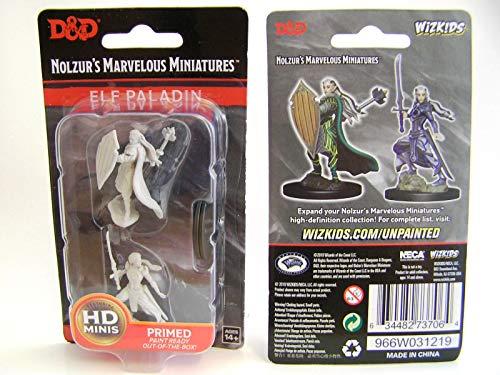 Dungeons Dragons Nolzur`s Marvelous Unpainted Miniatures W9 Female Elf Paladin
