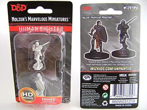 Dungeons Dragons Nolzur`s Marvelous Unpainted Miniatures W9 Female Human Fighter