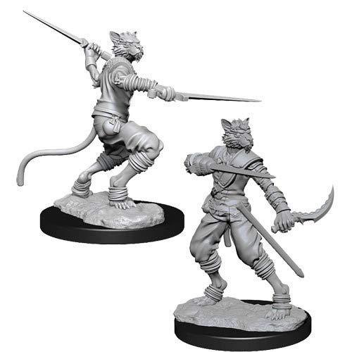 WizKids Dungeon Dragons Nolzurs Marvelous Miniatures - Male Tabaxi