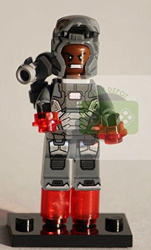 Iron Man Minifigure War Machine