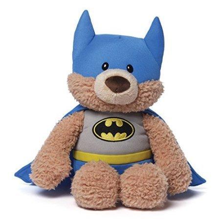 12 Soft and Silky Plush Malone the Bear Batman Childrens Stuffed Animal Toy