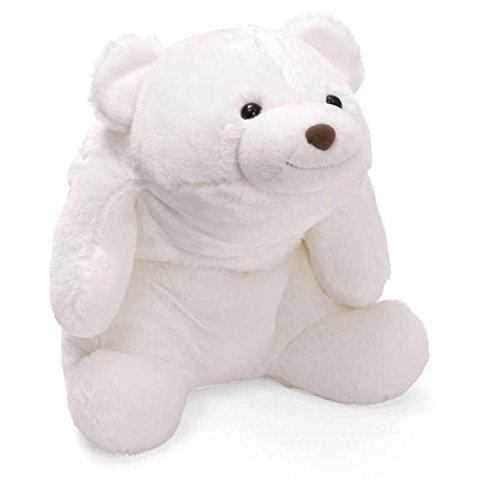 16 Extra Soft White Snuffles Plush Teddy Bear Childrens Stuffed Animal Toy