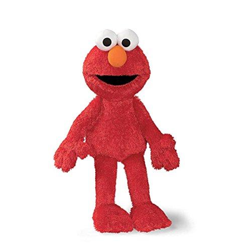 20 Sesame Street Soft and Silky Plush Elmo Doll Childrens Stuffed Animal Toy
